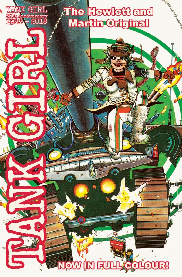 [Cover Art image for Tank Girl Full Colour Classics]
