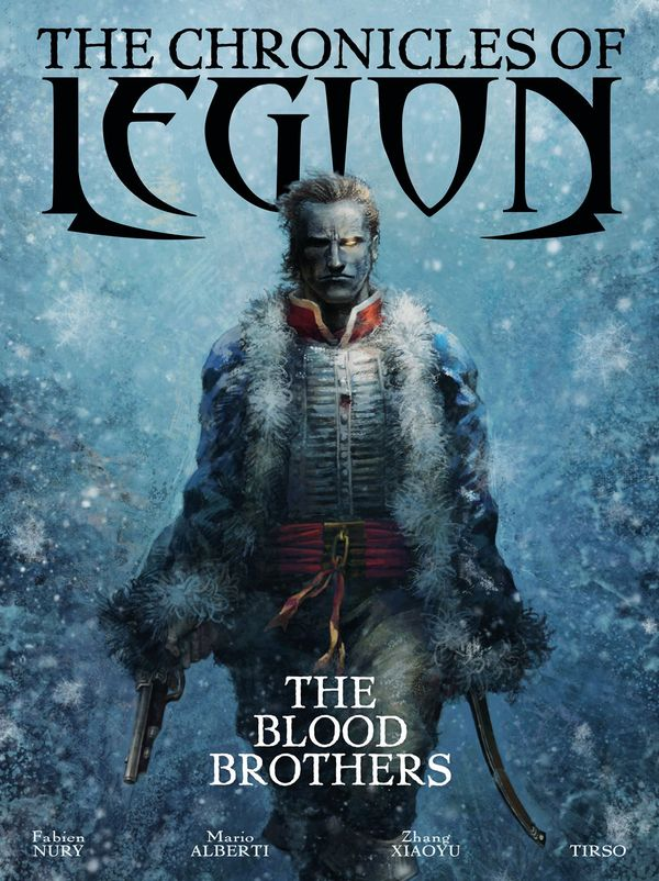 [Cover Art image for The Chronicles of Legion Vol. 3: The Blood Brothers]