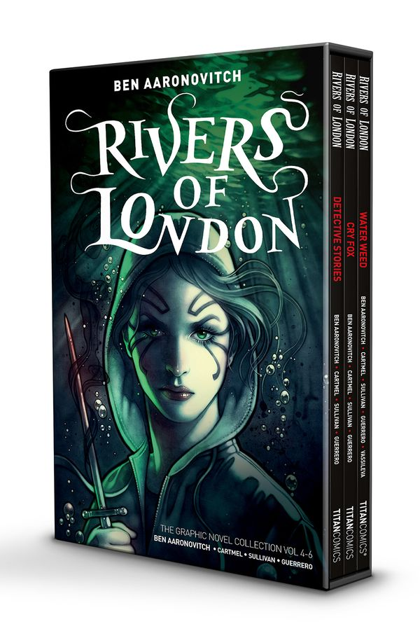 [Cover Art image for Rivers of London: 4-6 Boxed Set]