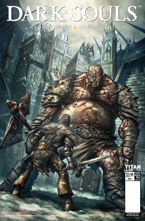 [Cover Art image for Dark Souls: Winter's Spite]