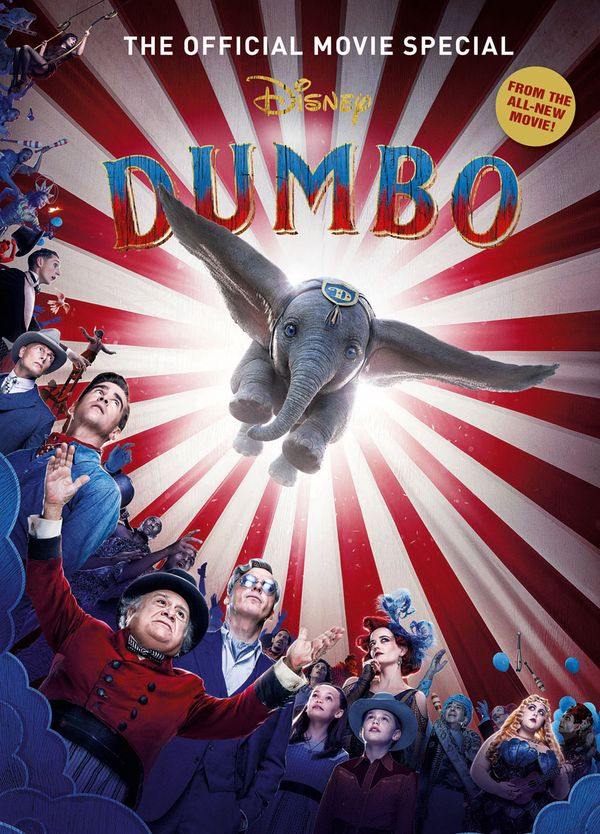[Cover Art image for Dumbo Movie Special]