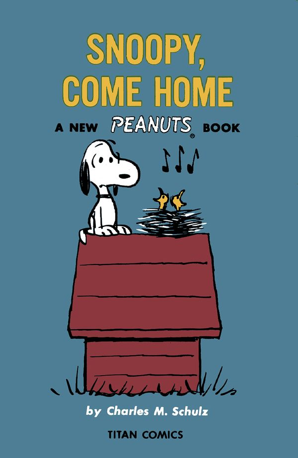 [Cover Art image for Peanuts: Snoopy, Come Home]