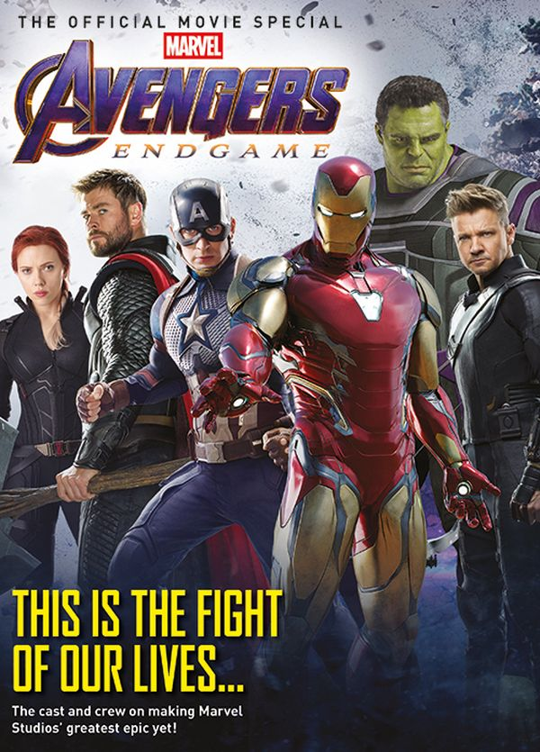 [Cover Art image for Avengers: Endgame: The Official Movie Special]