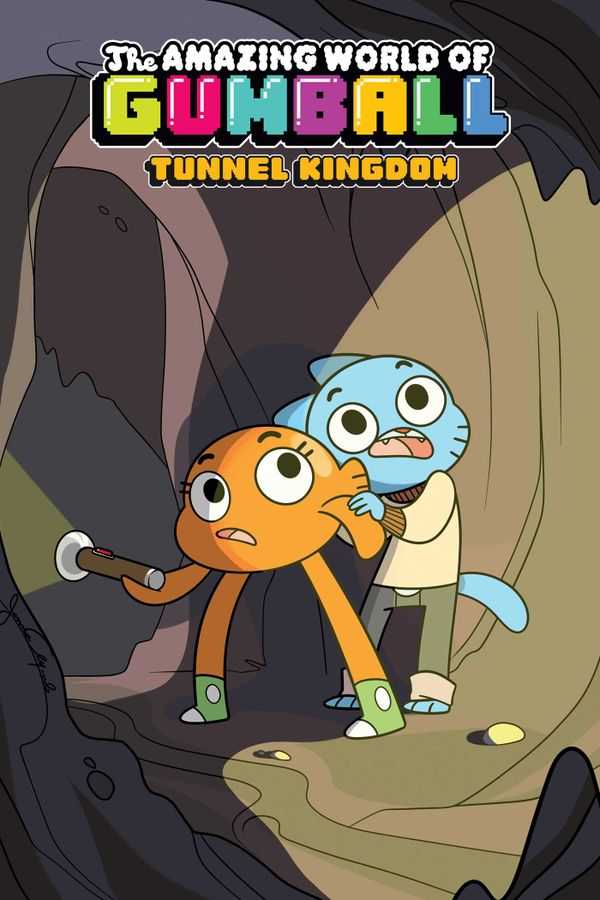 [Cover Art image for Amazing World of Gumball: Tunnel Kingdom]
