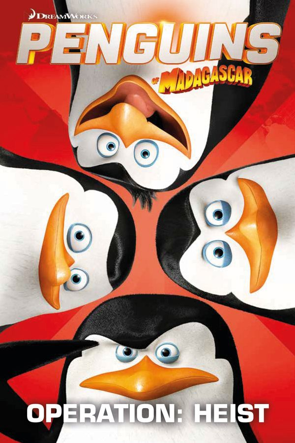 [Cover Art image for Penguins Of Madagascar: Operation Heist]