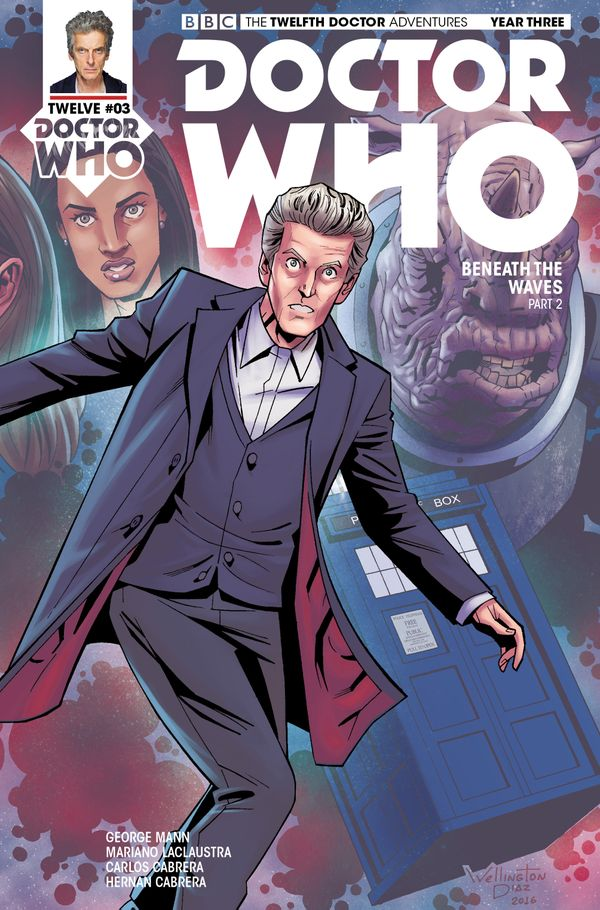 [Cover Art image for Doctor Who: The Twelfth Doctor]