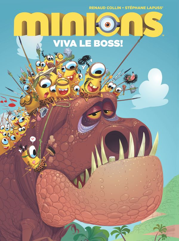 [Cover Art image for Minions: Viva Le Boss!]