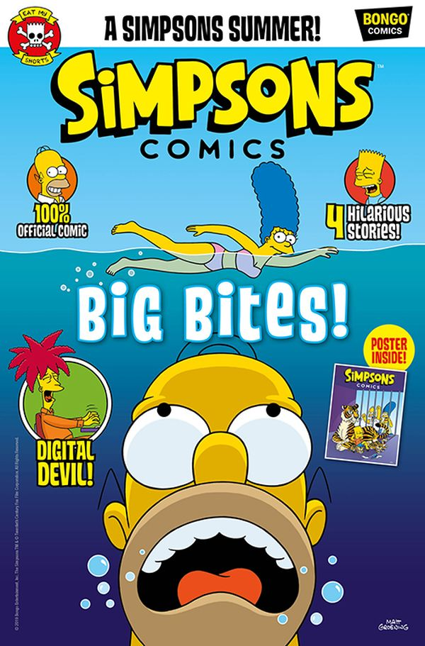 [Cover Art image for Simpsons Comic #24]