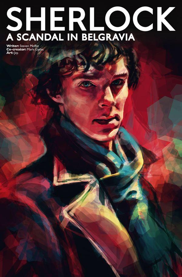 [Cover Art image for Sherlock: A Scandal in Belgravia]
