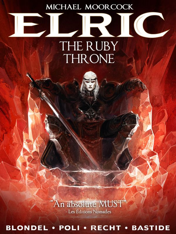 [Cover Art image for Michael Moorcock's Elric Vol. 1: The Ruby Throne]