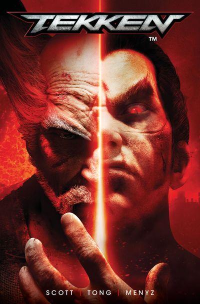 Tekken #1 Cover F Variant Edition Titan Comics  CB12157