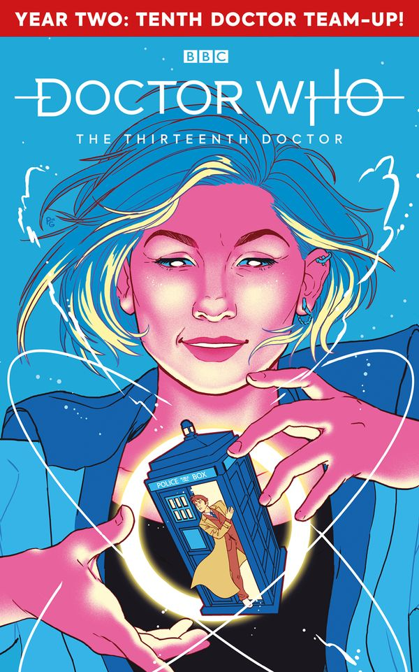 [Cover Art image for Doctor Who The Thirteenth Doctor]