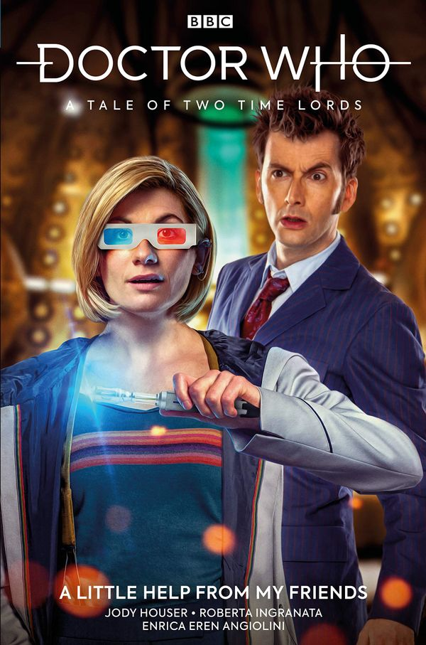 [Cover Art image for Doctor Who: A Tale of Two Time Lords Vol. 1: A Little Help From My Friends]