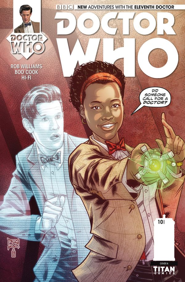 [Cover Art image for Doctor Who: The Eleventh Doctor]
