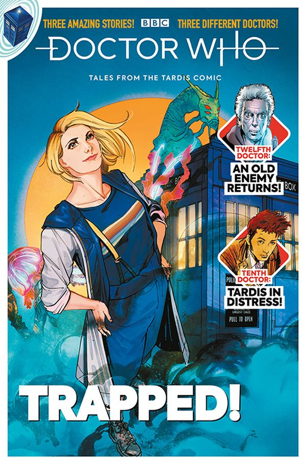 [Cover Art image for Doctor Who: Tales from the Tardis #2.5]