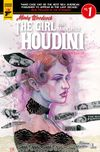 [The cover image for Minky Woodcock: The Girl Who Handcuffed Houdini]