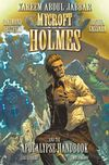 [The cover image for Mycroft Holmes and The Apocalypse Handbook]