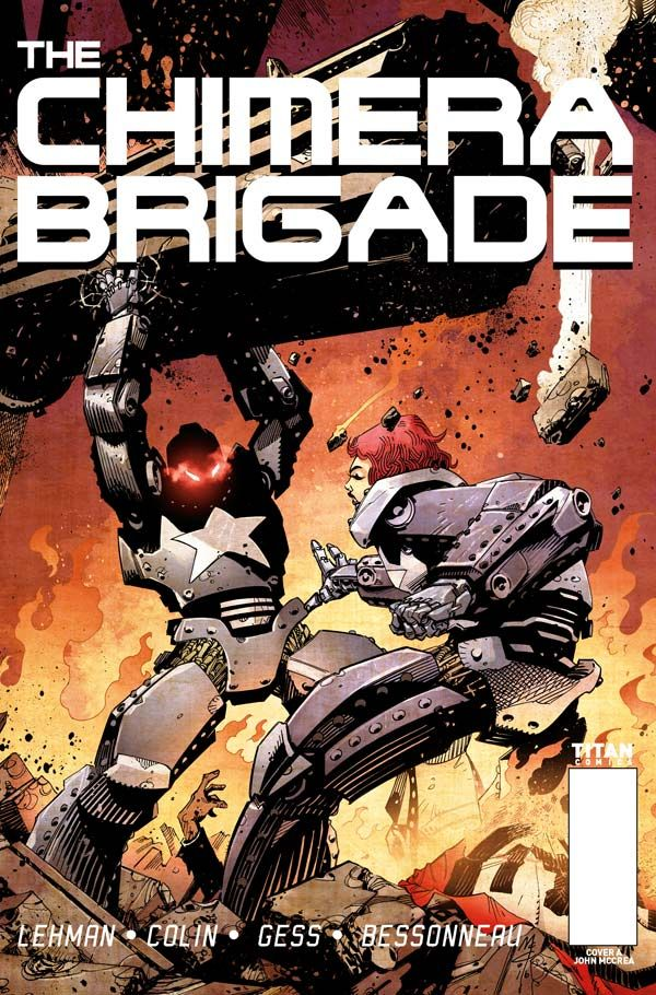 [Cover Art image for Chimera Brigade]