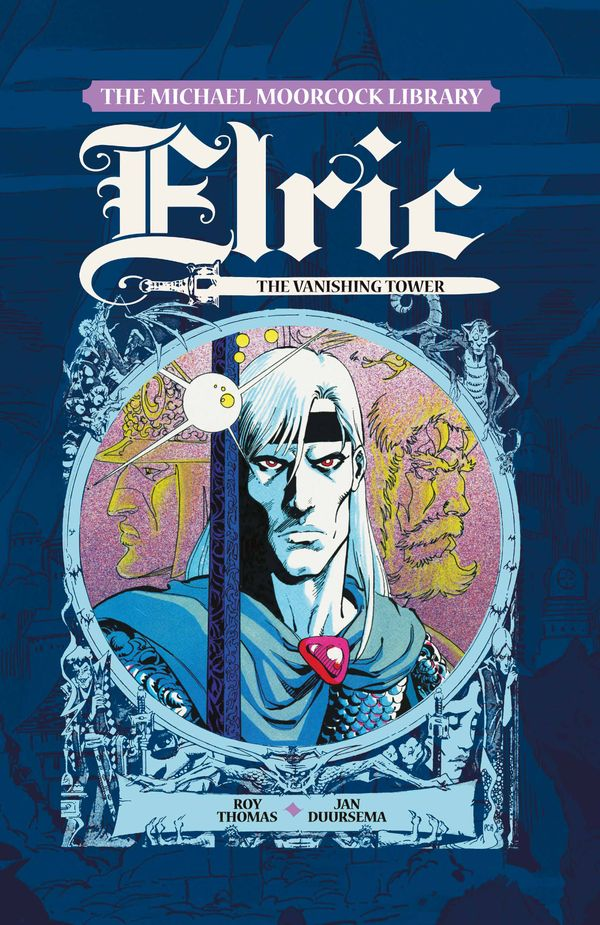 [Cover Art image for The Michael Moorcock Library - Elric: The Vanishing Tower]