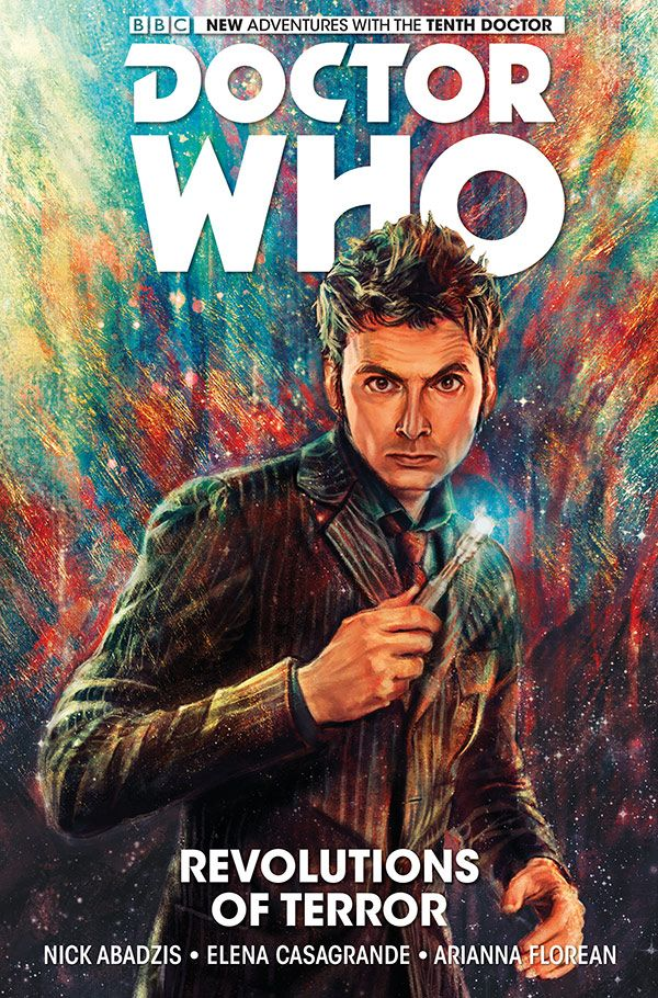 [Cover Art image for Doctor Who: The Tenth Doctor Vol. 1: Revolutions of Terror]
