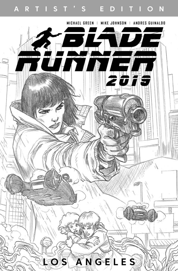 [Cover Art image for Blade Runner 2019 Vol. 1: Los Angeles Artist's Edition]
