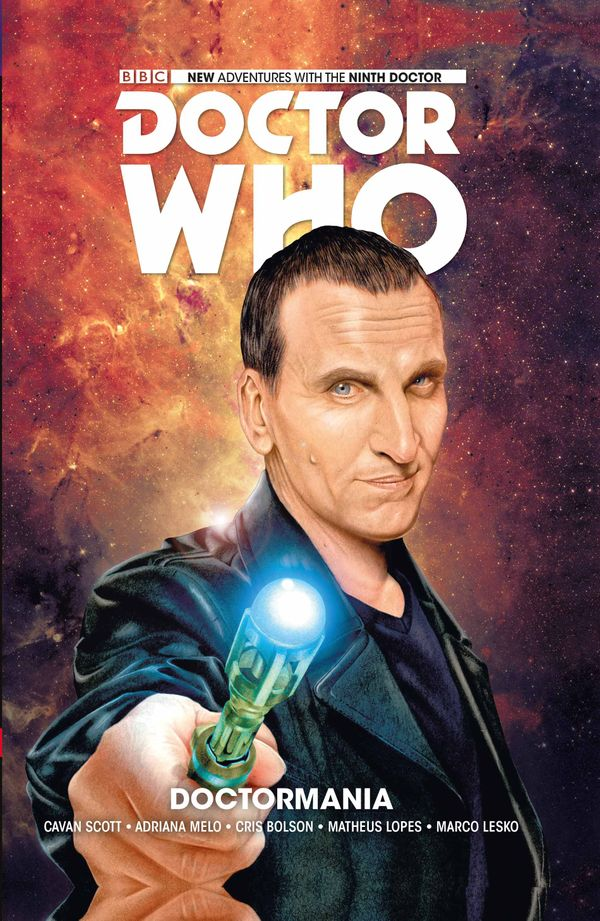 [Cover Art image for Doctor Who: The Ninth Doctor Vol. 2: Doctormania]