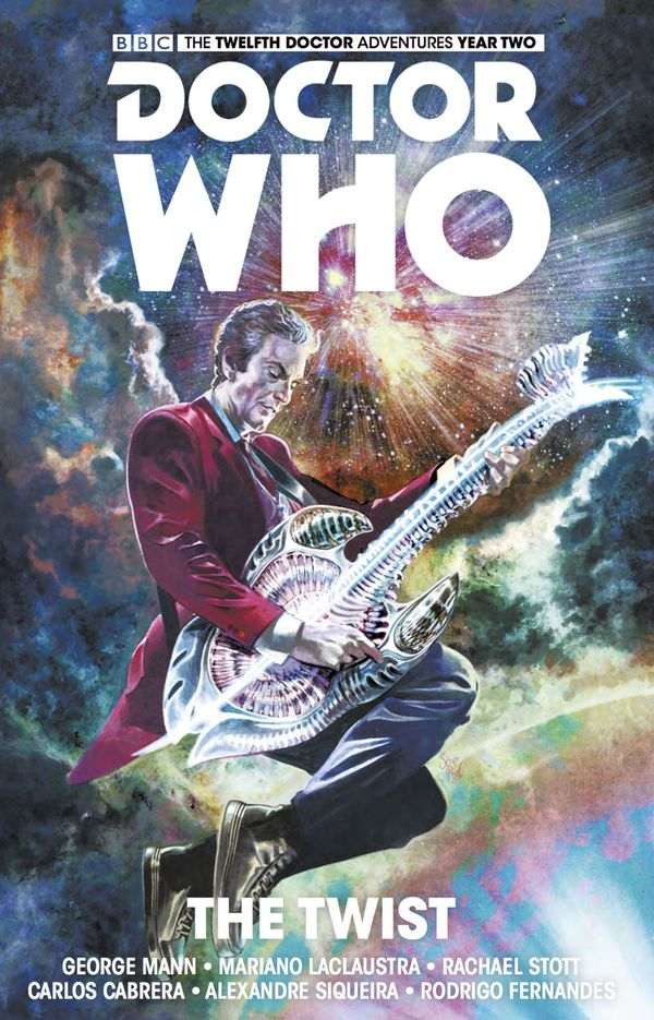 [Cover Art image for Doctor Who: The Twelfth Doctor Vol. 5: The Twist]