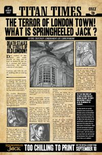 [Image for The Terror Of London Town - Springheeled Jack in today's Titan Times!]