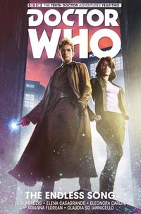[Image for Doctor Who: The Tenth Doctor HC]