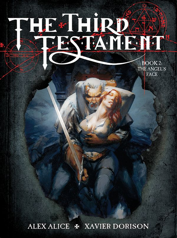 [Cover Art image for The Third Testament Vol. 2: The Angel's Face]