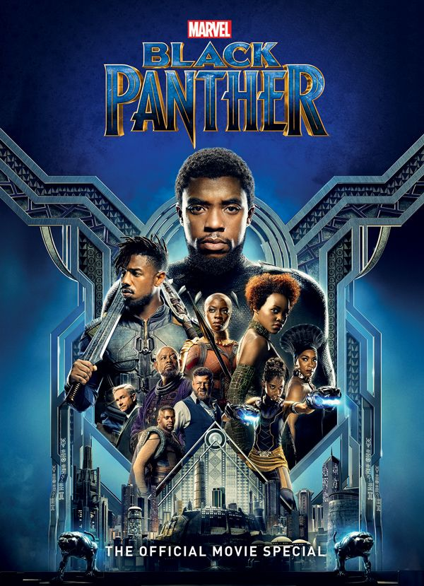 [Cover Art image for Black Panther: The Official Movie Special]