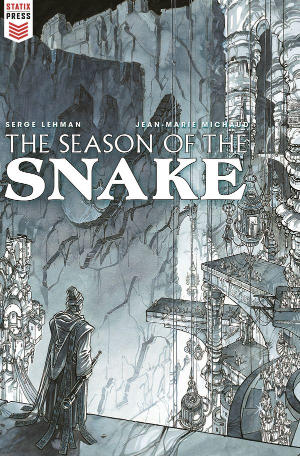 [Cover Art image for The Season of the Snake]