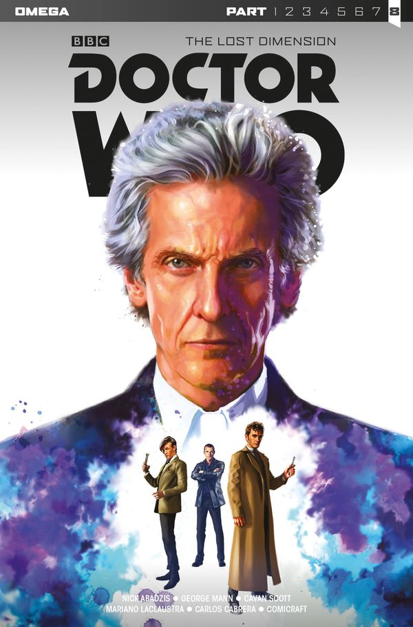 [Cover Art image for Doctor Who: The Lost Dimension]