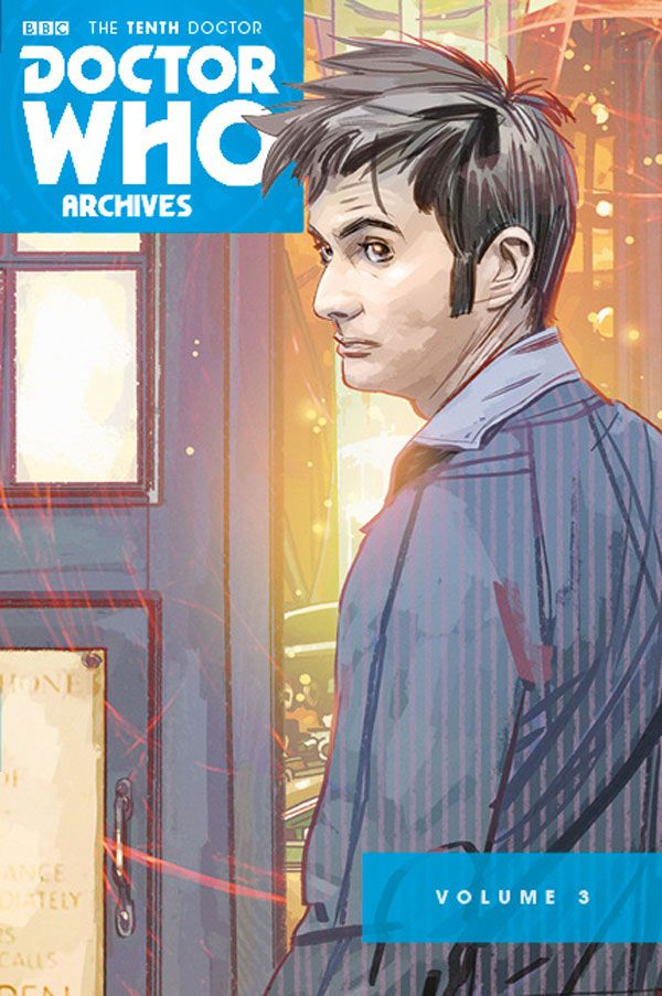 [Cover Art image for Doctor Who Archives: The Tenth Doctor Vol. 3]