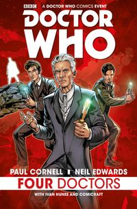 [Image for Doctor Who Comics Event: The Four Doctors]