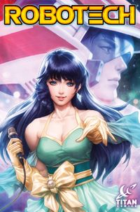 "[Image for Cover revealed! Robotech Issue #1 - Stanley ""Artgerm"" Lau's Cover A!]"