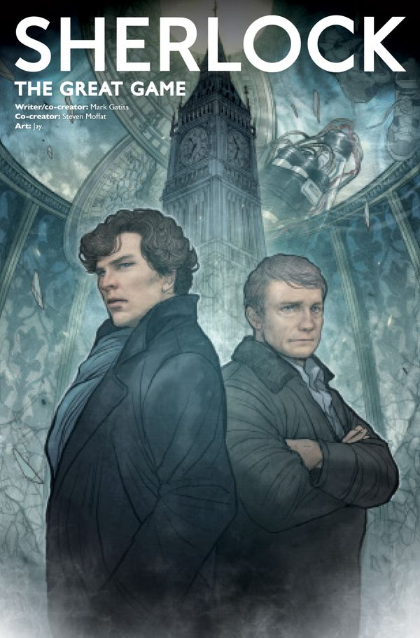[Cover Art image for Sherlock: The Great Game]