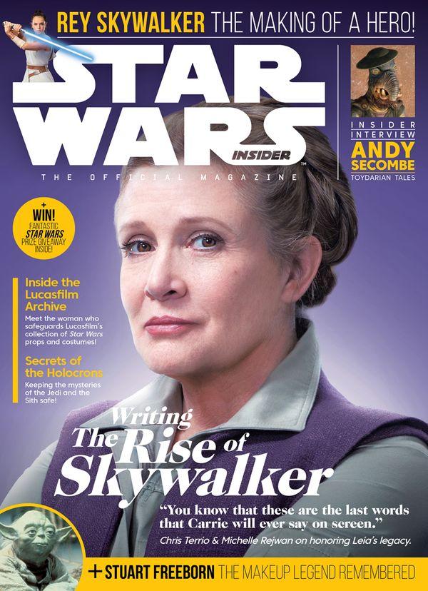 [Cover Art image for Star Wars Insider #196]