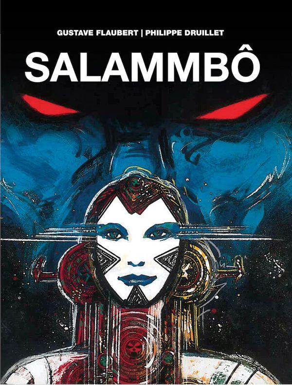 [Cover Art image for Phillipe Druillet's Salammbô]