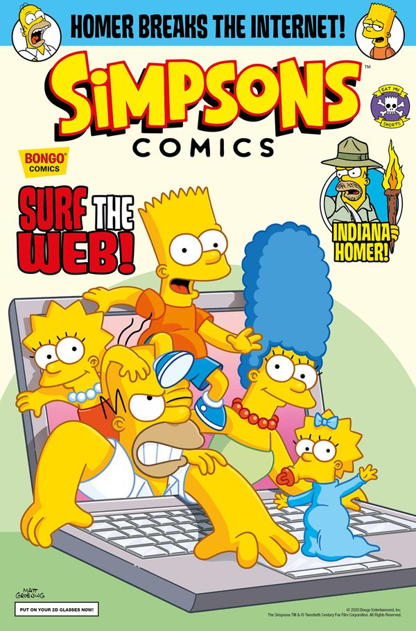 [Cover Art image for Simpsons Comics #32]