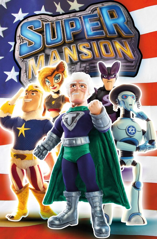 [Cover Art image for SuperMansion]