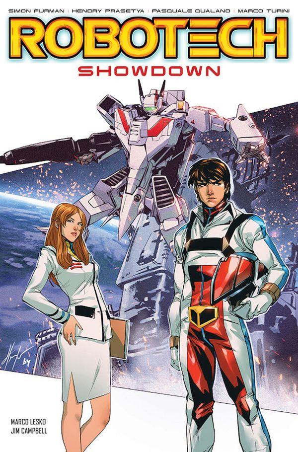 [Cover Art image for Robotech Vol. 5: Showdown]