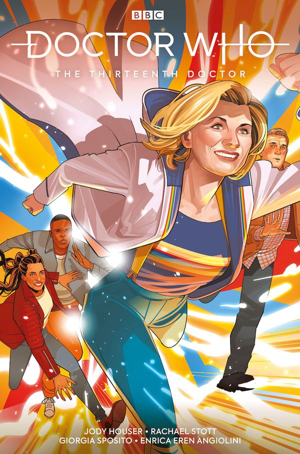 [Cover Art image for Doctor Who The Thirteenth Doctor: A New Beginning]
