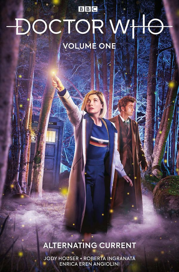 [Cover Art image for Doctor Who Vol. 1: Alternating Current]