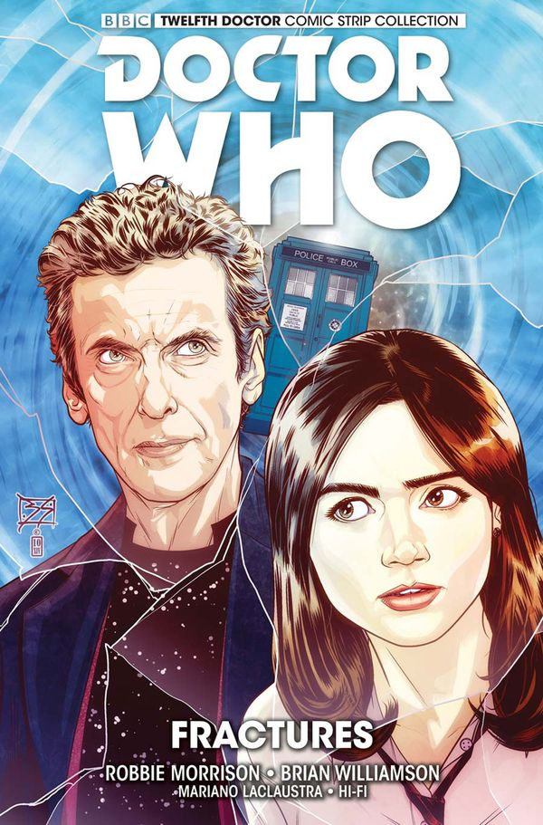 [Cover Art image for Doctor Who: The Twelfth Doctor Vol. 2: Fractures]