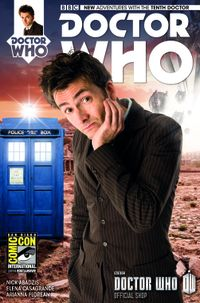 [Image for Issue #1 Variant Covers for Doctor Who: The Tenth Doctor and The Eleventh Doctor]