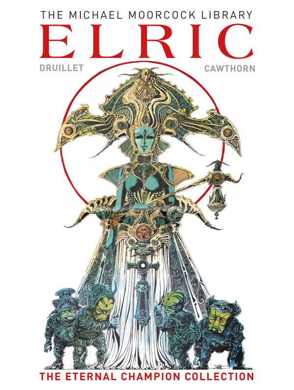 [Cover Art image for The Moorcock Library: Elric The Eternal Champion Collection]