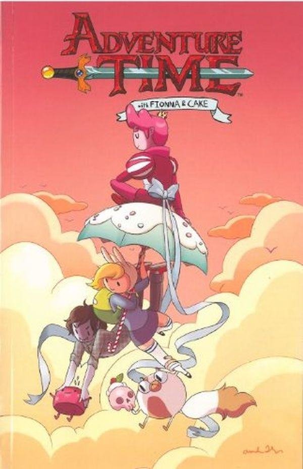 [Cover Art image for Adventure Time: Fionna & Cake]