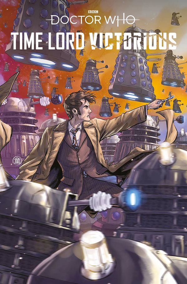 [Cover Art image for Doctor Who Time Lord Victorious]