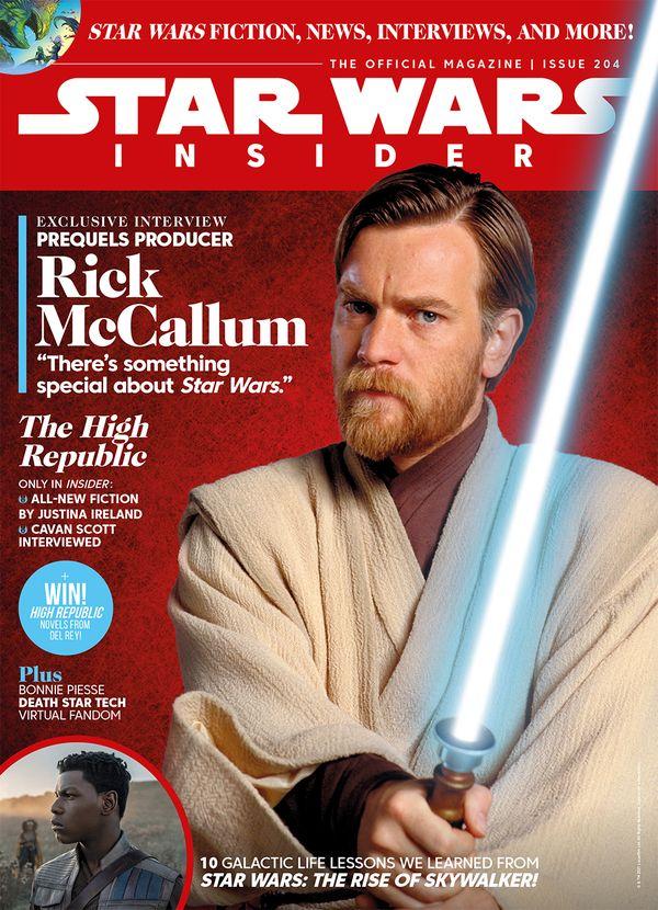 [Cover Art image for Star Wars Insider #204]